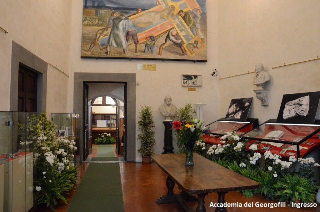 Accademia dei Georgofili - Ingresso