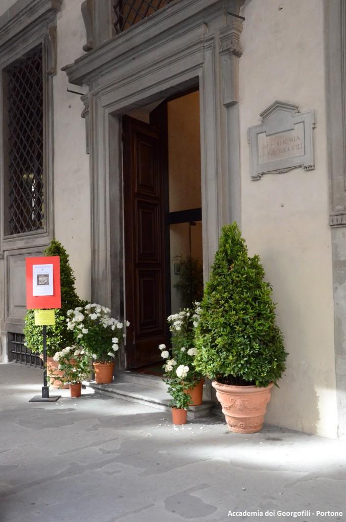 Accademia dei Georgofili - Portone
