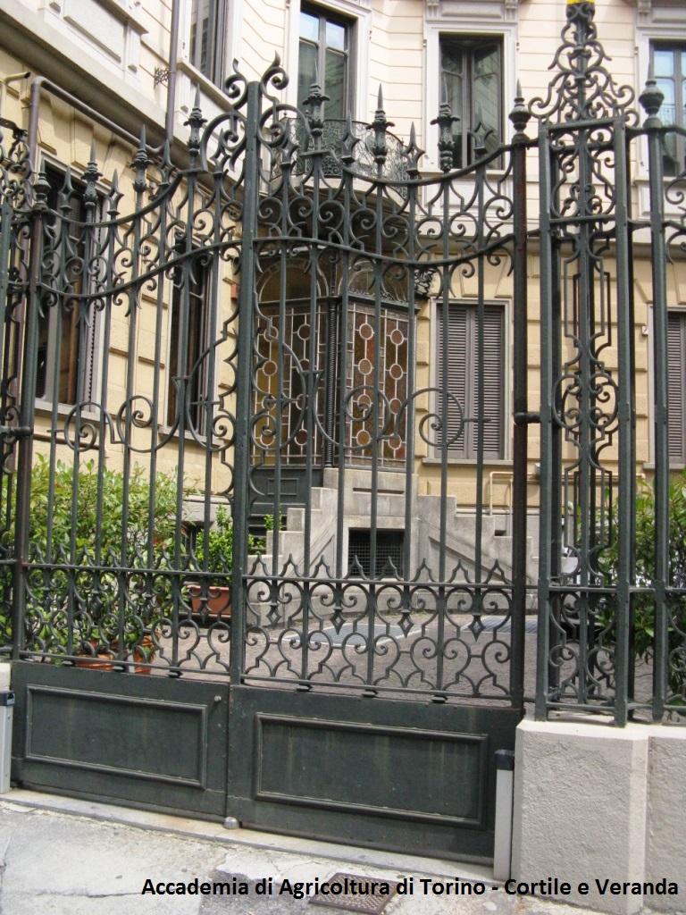 Accademia di Agricoltura di Torino - Cortile e Veranda