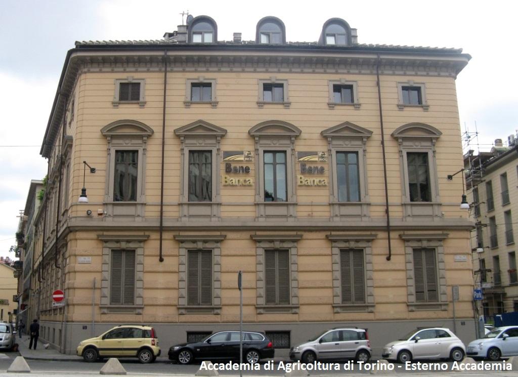 Accademia di Agricoltura di Torino - Esterno Accademia