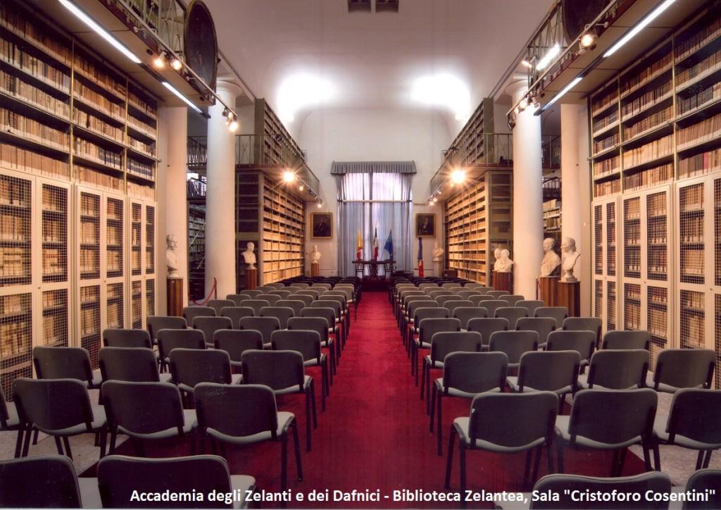 Biblioteca Zelantea, sala Cristoforo Cosentini0001