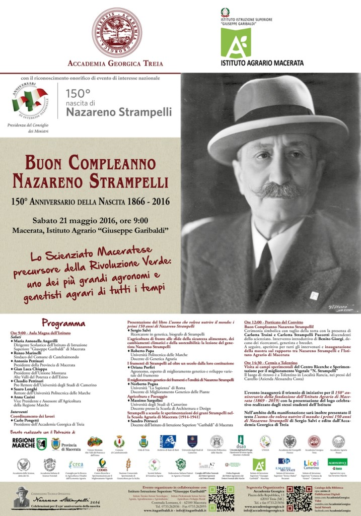Compleanno Strampelli - locandina