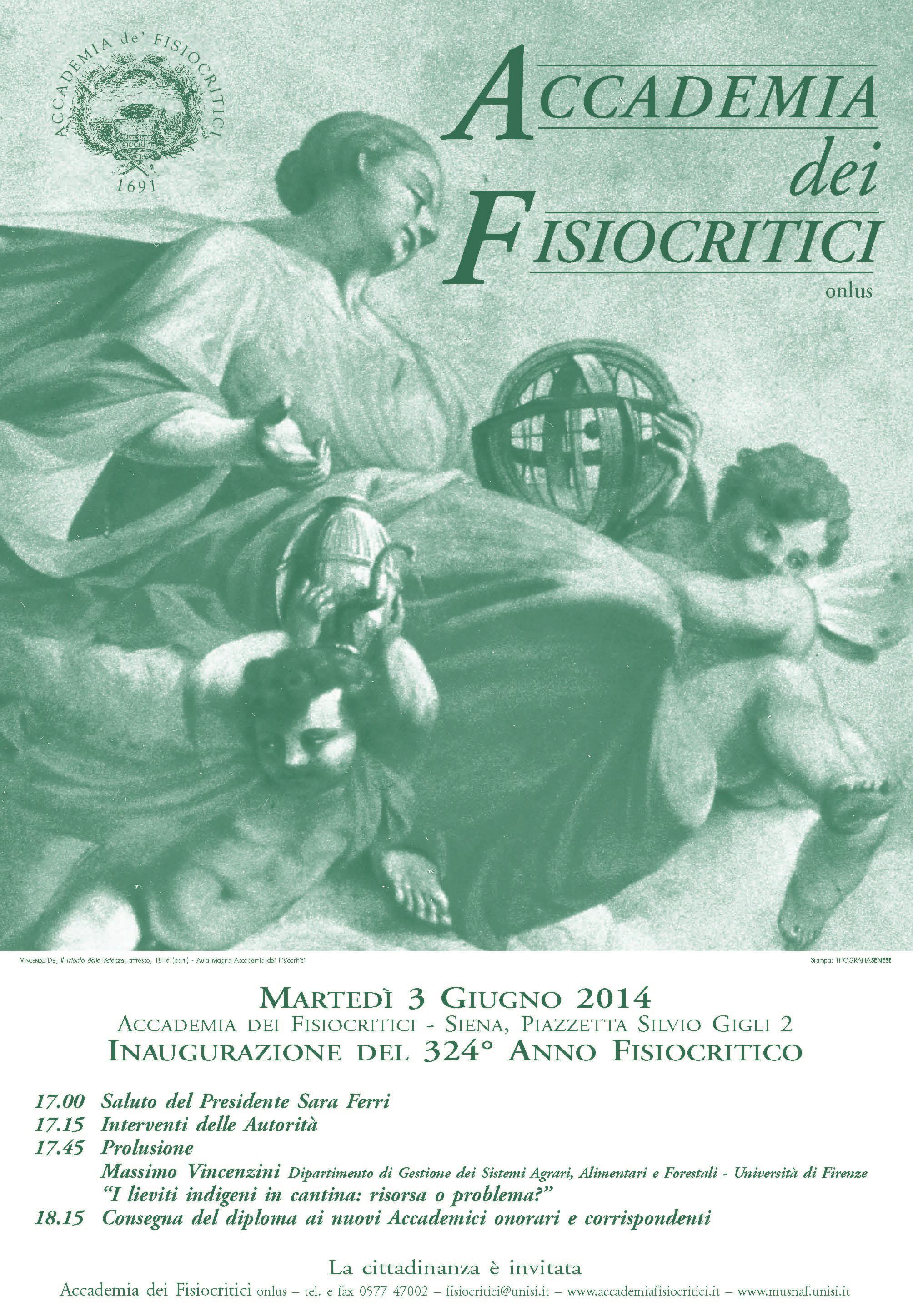 Manifesto 324° Anno Fisiocritico