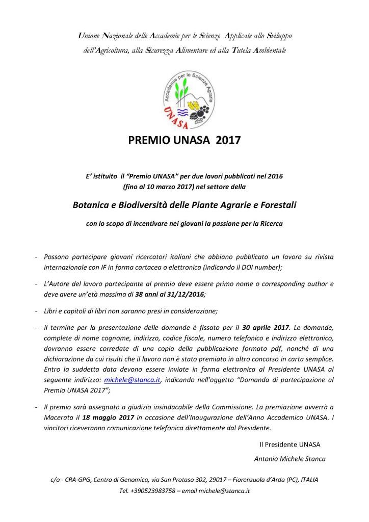 Premio Unasa 2017