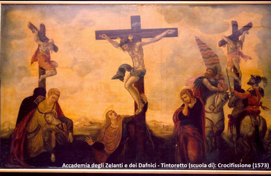 Tintorett (scuola di) - Crocifissione (1573)0001